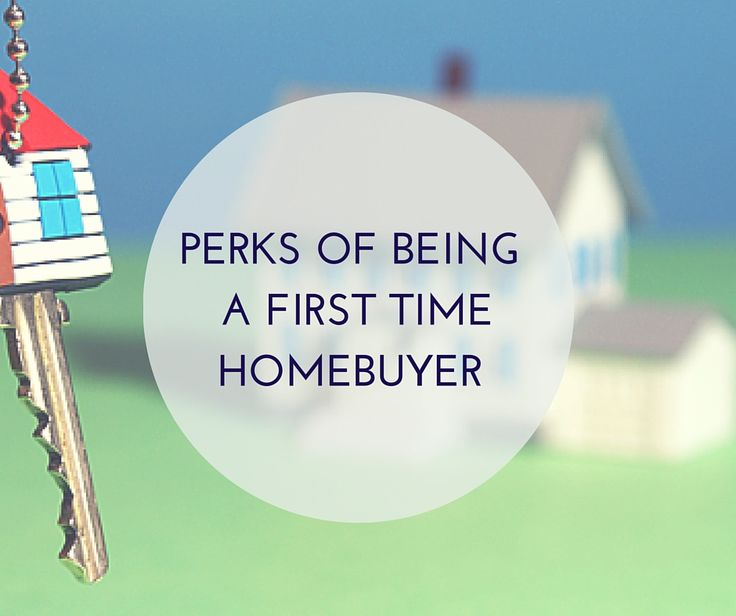 Buying your first home can be overwhelming, but the benefits of being a first time homebuyer make it all worthwhile. Here are some perks you have to look forward to...