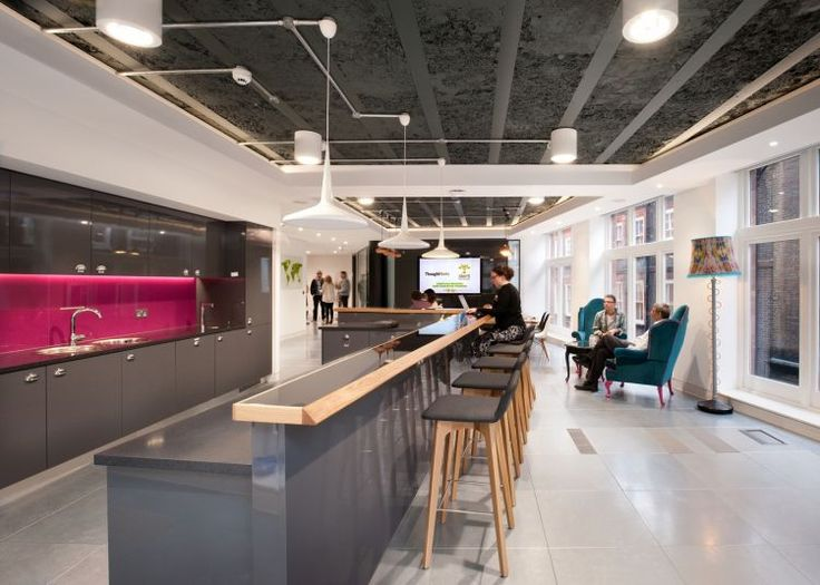 Inspirational office design innovation centre reception for Innovation consultancy london