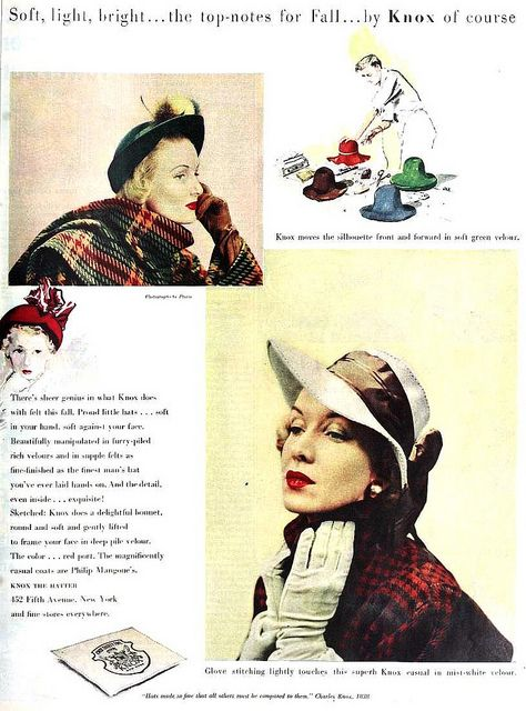 754 Best Images About Captivating Vintage Chapeaus On