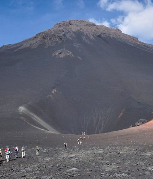 Walk into the volcano  ;-) Fogo island, Cape Verde #Kaapverdie