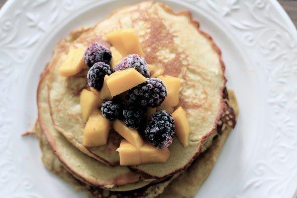 Heidi's Matkrok: Pannekaker med banan og kokosmelk