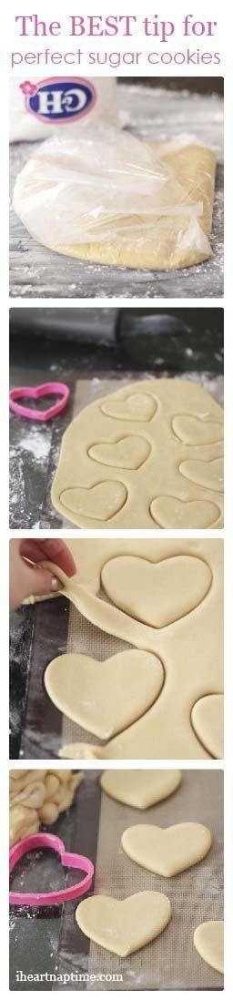 Super Soft Sugar Cookies Recipe plus the best tip for perfect sugar cookies!.