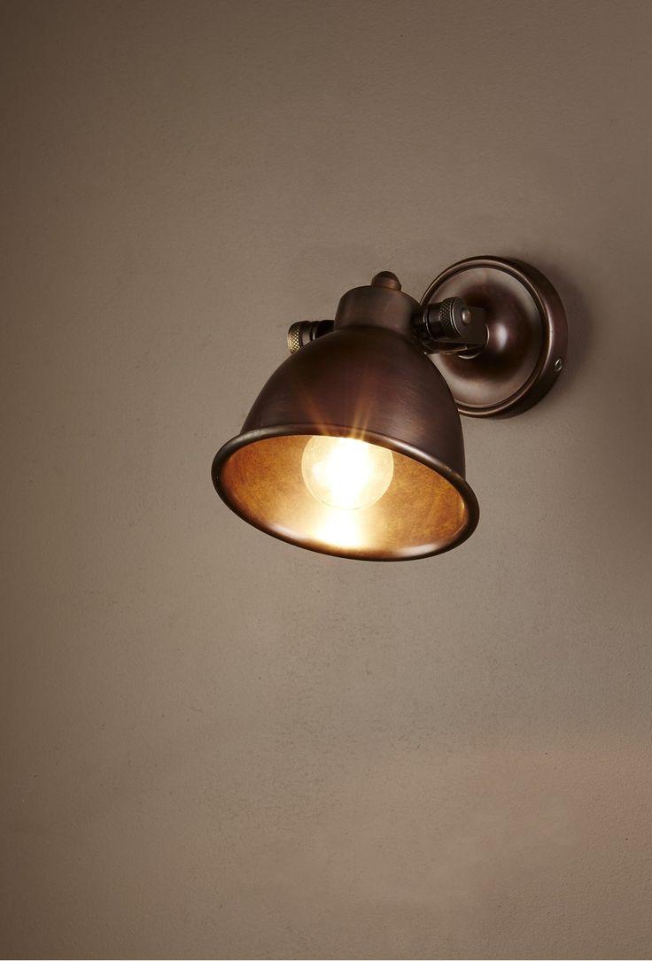 Phoenix Wall Lamp Dark Brass - Wall Lights | Interiors Online - Furniture Online & Decorating Accessories