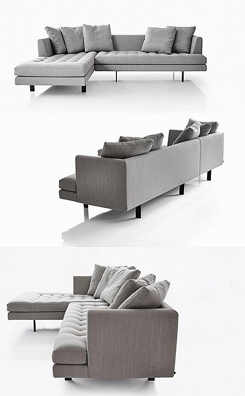 Quasi Modo Modern Furniture › Bensen Sofa Edward Sectional