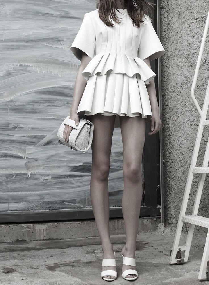 all white #fashion #Style