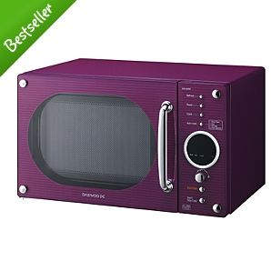 Colorful microwave for those of us who don't know how to work an oven or stove :/