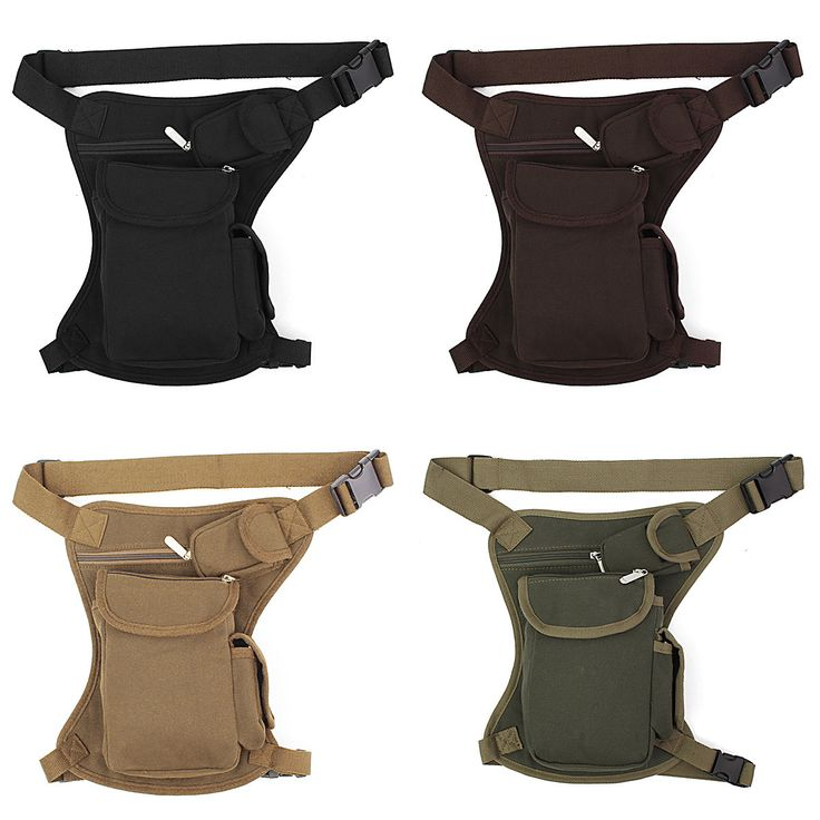 Multi-function Motorcycle Man Leg Bag Recreational Sport Canvas Backpack Knight Legs Package