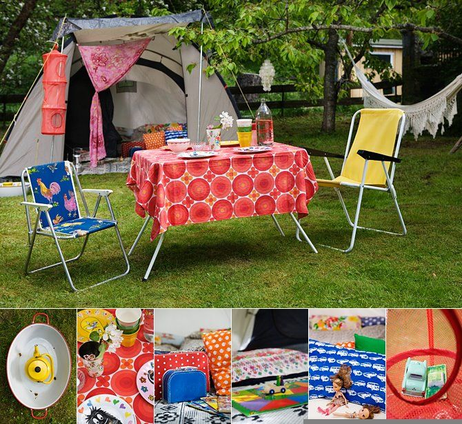 Why not decorate your camp site??  :): Decor Delight, Camps Ideas And Organizations, Hanging Organizations, Camps Chic, Campsite Ideas, Glamping Inspiration, Campsite Decor Ideas, Seventies Trees, Decks Chairs