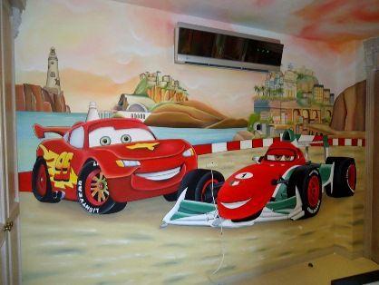 mural de car