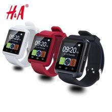 Высокое качество Bluetooth Smart Watch A8 Наручные Часы цифровые спортивные часы для IOS Android Samsung телефон Переносной Электронный Прибор //Цена: $10.45 руб. & Бесплатная доставка //  #gadgets #ноутбуки