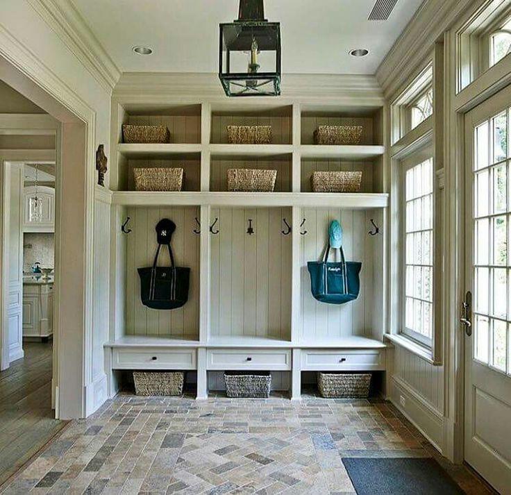 Best 25 lockers ideas on pinterest mud room lockers for Bathroom mudroom combo