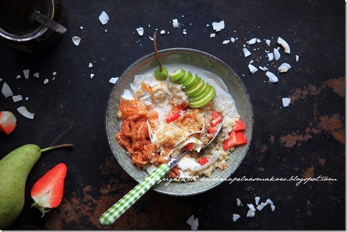 śniadanie quinoa