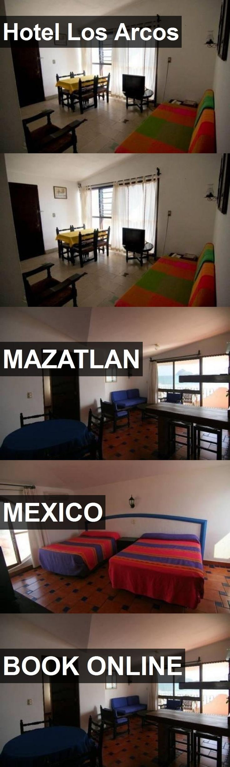 Hotel Los Arcos in Mazatlan, Mexico. For more information, photos, reviews and best prices please follow the link. #Mexico #Mazatlan #travel #vacation #hotel