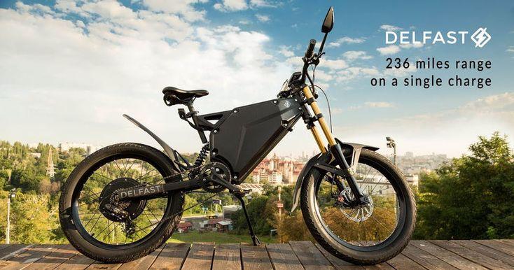 Электрический велосипед проехал самое большое в мире расстояние без подзарядки. Энергии байку хватило более чем на 367 км.