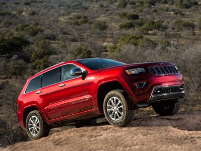 Jeep Grand Cherokee significantly upgraded for 2014...