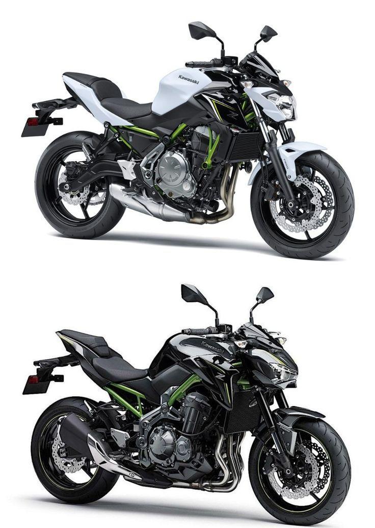 2017 Kawasaki Z900 Und Z650 Losen Weltweit Laufende Z800 Und Er 6n Modelle Ab Kawasaki Motorcycles Ab Er6nmodel Motorrad Kawasaki Motorrader Fahrzeuge
