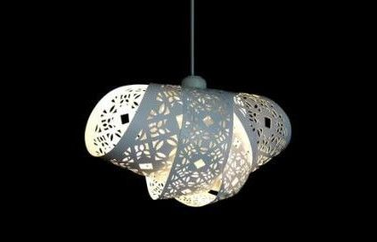 DIY Paper Cut Lampshades