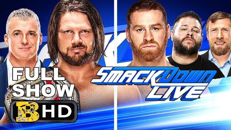 WWE SMACKDOWN 2/1/2018 FULL SHOW - WWE SMACKDOWN 2 JANUARY 2018 HIGHLIGH... #wwe #smackdown #ajstyles #kevinowens