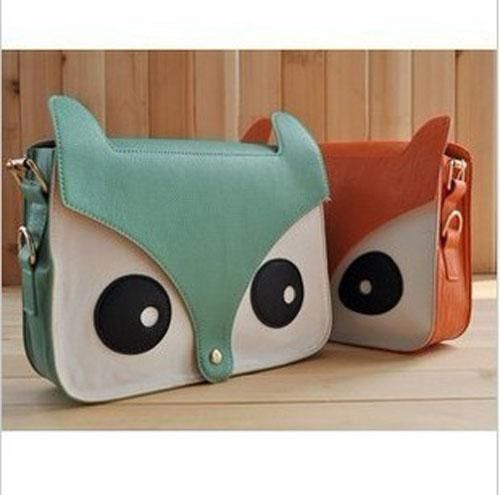 New Contrast Color Owl Messenger Pu Material Hobo Shoulder Bag CJ013Foxes Bags, Evening Bags, Shoulder Bags, Women Bags, Messenger Bags, Clutches Bags, Owls Bags, Fashion Handbags, While