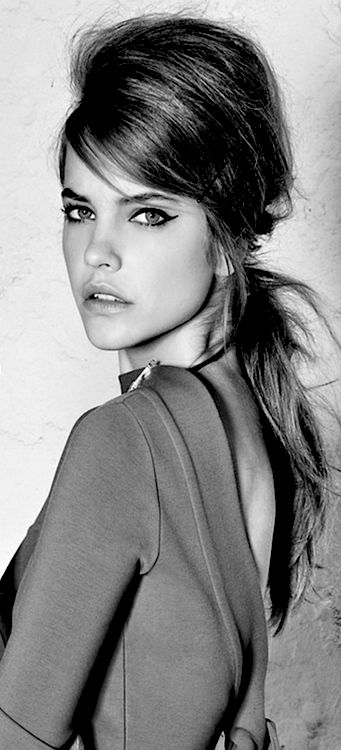 Barbara Palvin ♥ don't know her but I love the hair and she's gorgeous