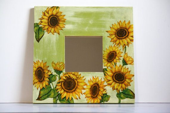 1000+ Images About Handpainted Decoupaged Mirrors On Pinterest