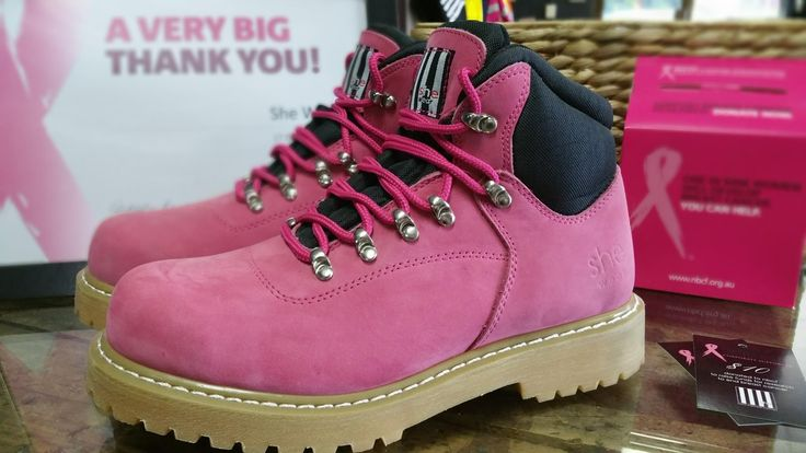 We have now sold out of our National Breast Cancer Foundation limited edition boot.  Thank you to everyone who purchased and helped  us donate $10 for each pair sold.   A new project coming soon. :)