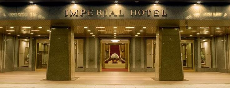 'Teikoku Hotel' or Imperial Hotel - Tokyo, Japan, living history...  www.imperialhotel.co.jp/e/