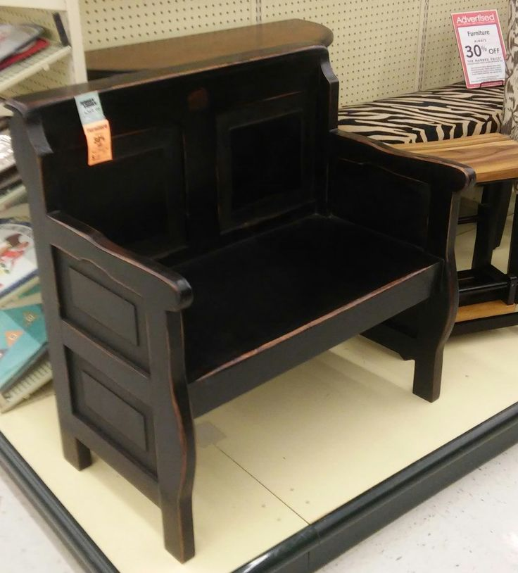 Hobby Lobby. I love this bench!