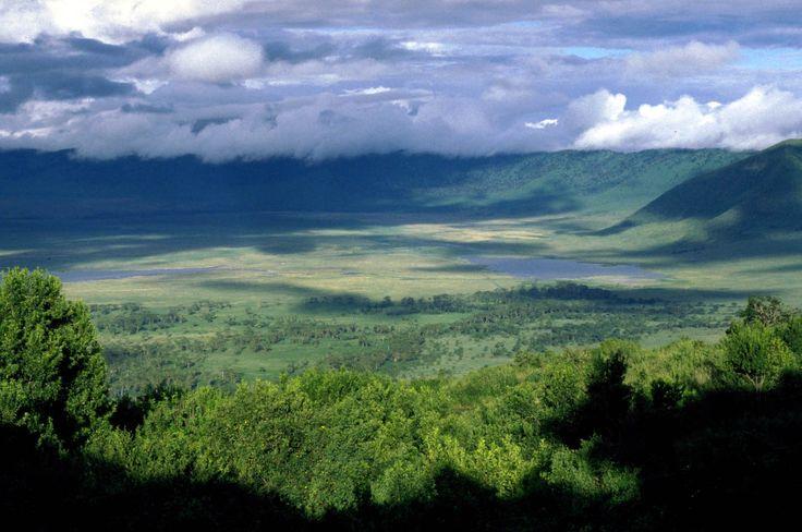 Ngorongoro Crater - #Tanzania.