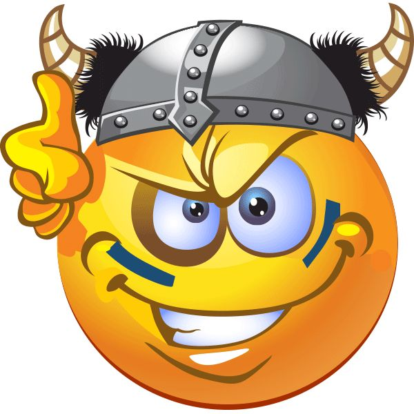 Viking Marauder Smiley