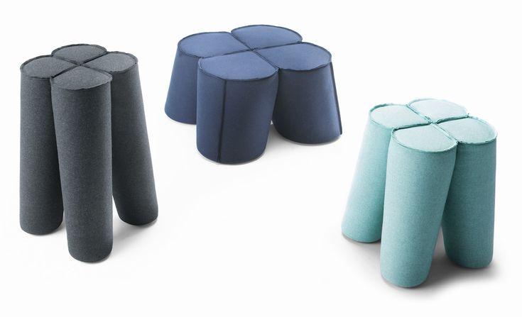NOTI design | TREFL collection | design by Piotr Kuchcinski | chair | stool | pouf | bar stool | table | modern | furniture | home | clubs | pubs | kids