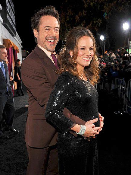 Robert Downey Jr and Susan
