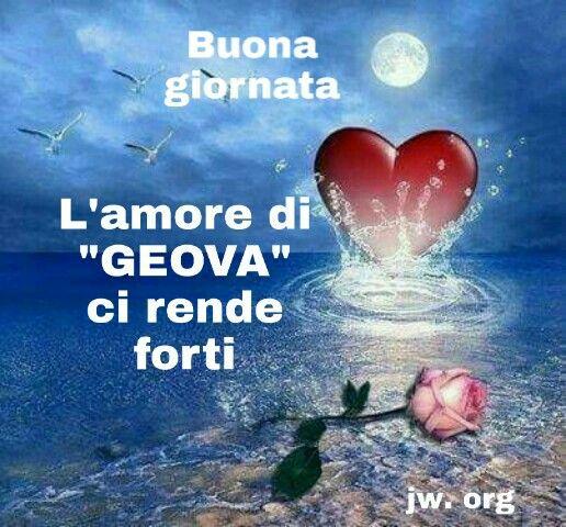 """Pin di Anna Iovinella su """"Geova amore infinito""""   Immagini ..."""