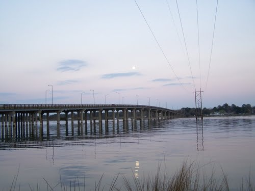 Churchland Bridge takes you from Churchland to Portsmouth ...
