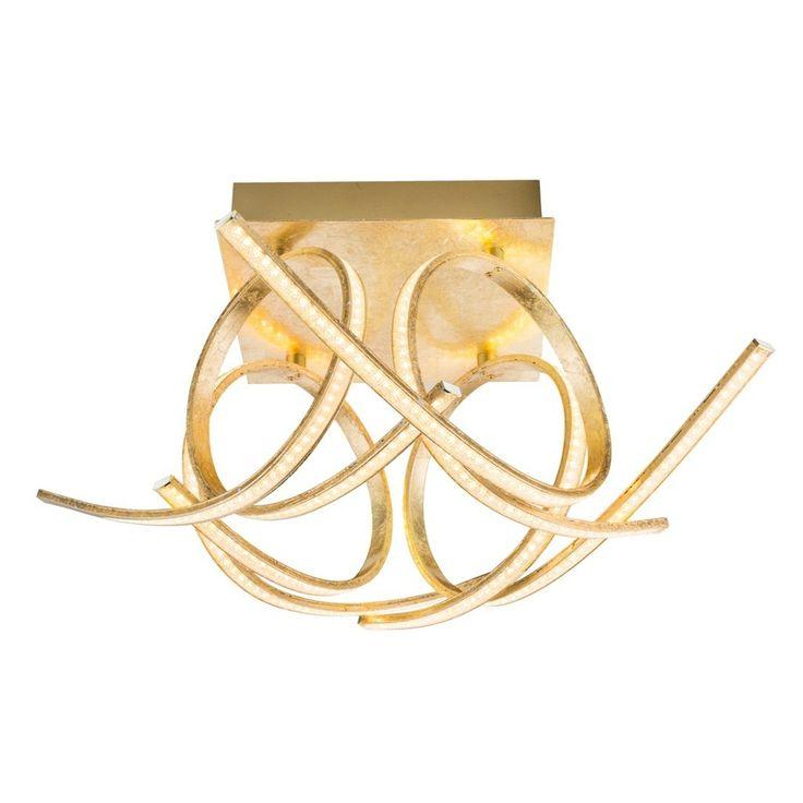 XXXL LED-DECKENLEUCHTE, Gold Jetzt bestellen unter: https://moebel.ladendirekt.de/lampen/deckenleuchten/deckenlampen/?uid=db03c553-f142-56d7-9e4b-e56a0067be0b&utm_source=pinterest&utm_medium=pin&utm_campaign=boards #deckenleuchten #lampen #deckenlampen