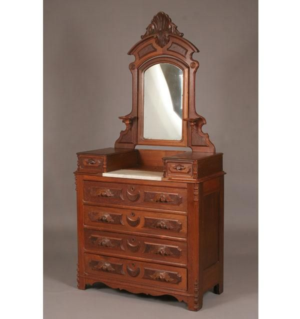 Victorian Eastlake Dresser With Mirror ~ BestDressers 2017
