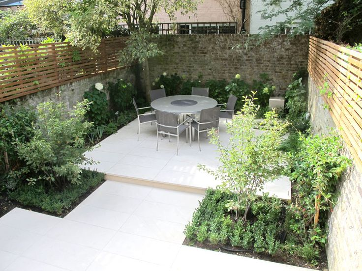 Family garden in West London - Charlotte Rowe #gardening #gardens #garden