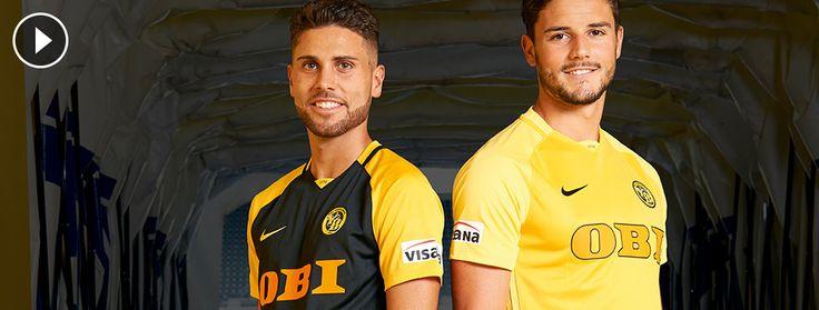 Camisas do Young Boys 2017-2018 Nike