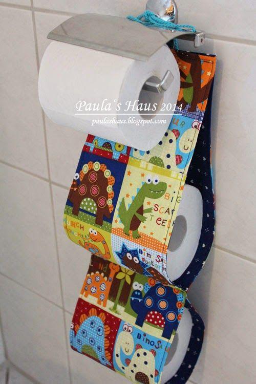 Paula's Haus: WC-Rollenhalter ...