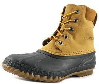 Sorel Cheyanne Men Round Toe Suede Black Hiking Boot.
