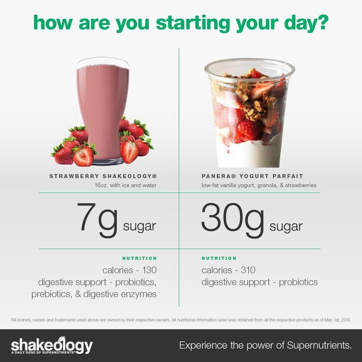 snack ideas, healthy snack recipes, snacks for the kids, yogurt parfait calories // shakeology