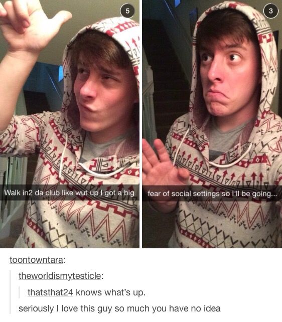 Isn't that Thomas Sanders, or whatever his name is. If so, I like his vines
