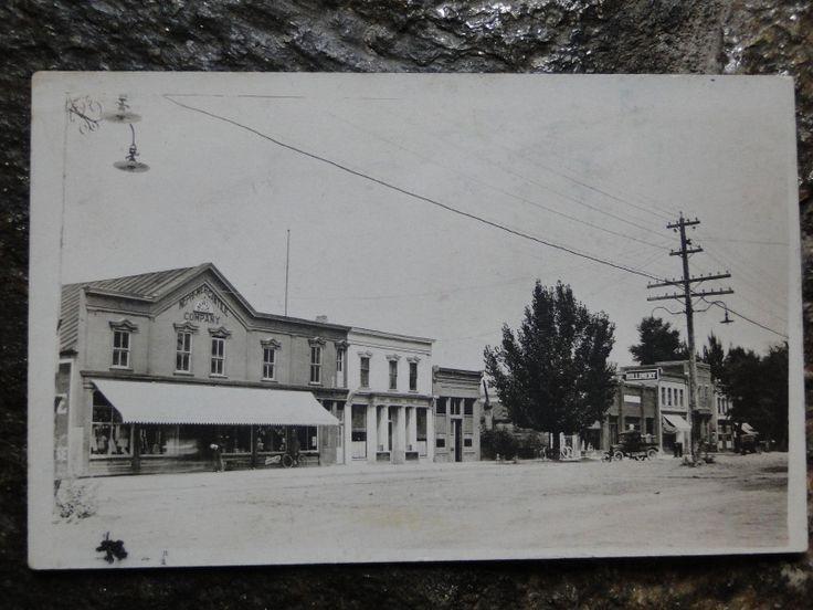 Nephi Mercantile Street Scene in Nephi Utah