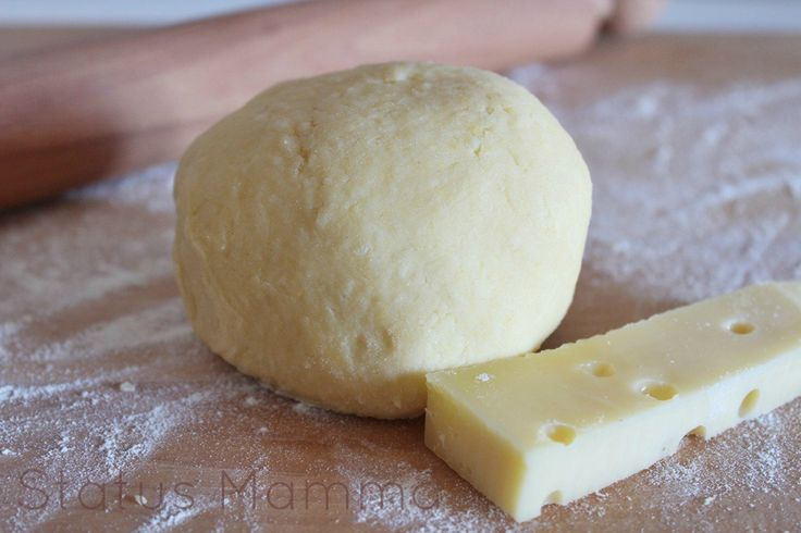 Pasta frolla al formaggio salata