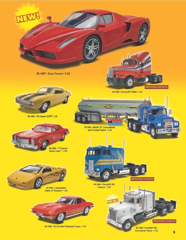 Page 5 - Revell Monogram Catalog 2012 - Plastic Kits - Model Kits - Scale Modeling