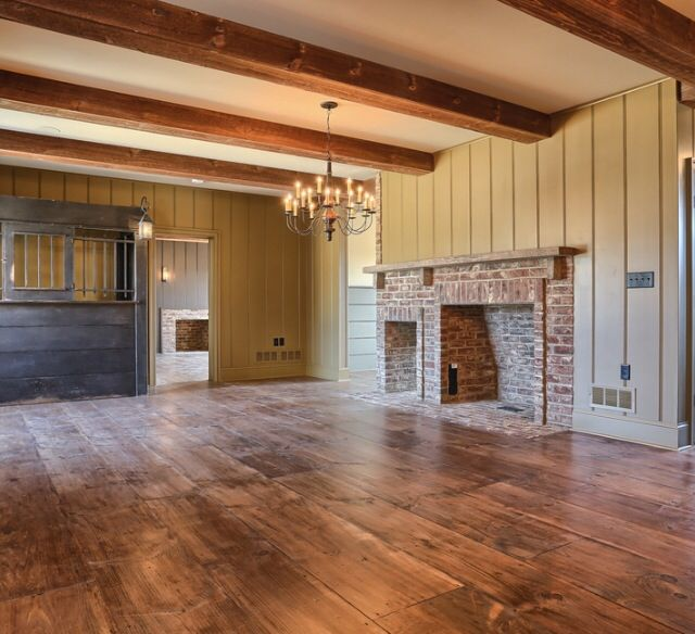 1000 images about colonial and primitive fireplaces on for Custom colonial homes