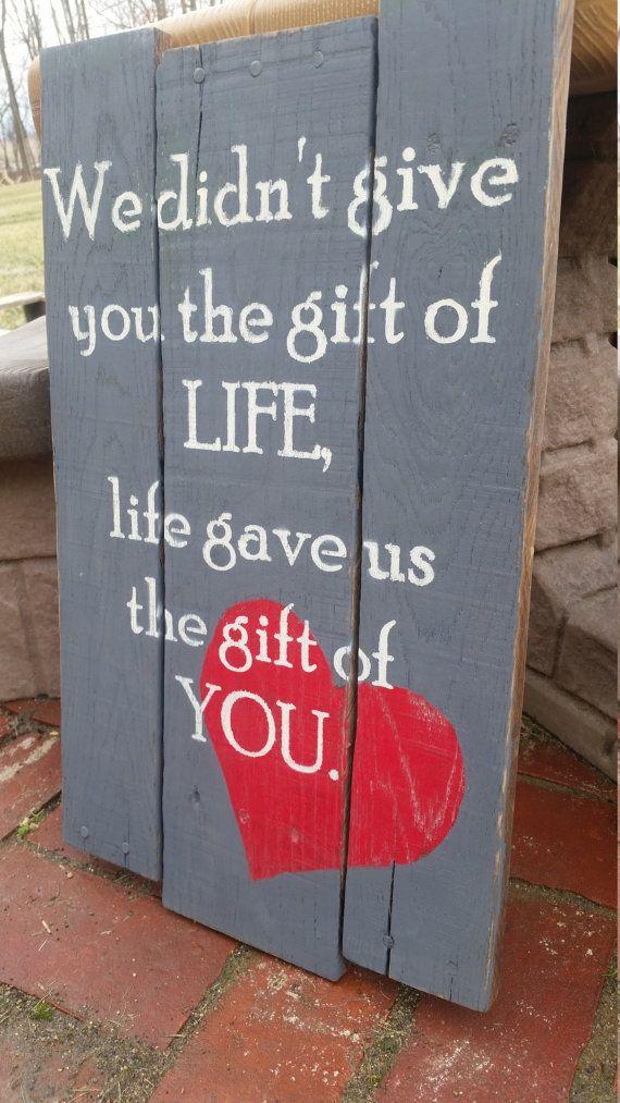 Maar dan net andersom. Als cadeau voor onze ouders.