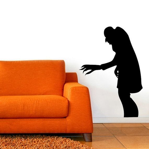 Nosferatu Shadow Vinyl Wall Art Graphic Horror by Pillboxdesigns, $29.99