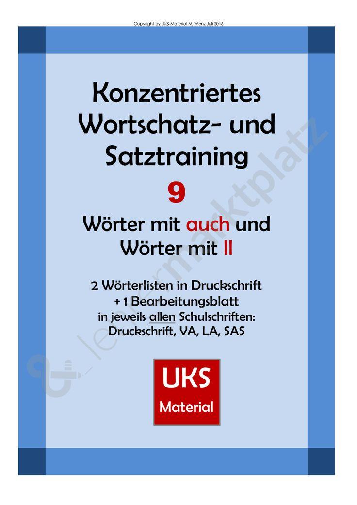 155 best UKS-Material images on Pinterest   Deutsch, Schreibschrift ...