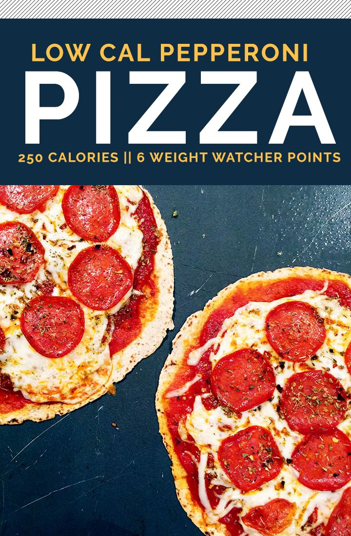 The Best Low Calorie Pizza Recipe || 250 Calories, 6 Weight Watcher Points
